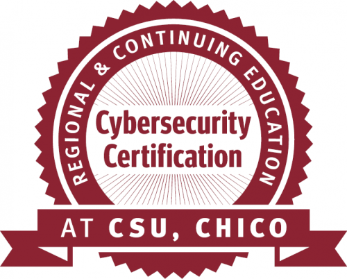Obtain Cybersecurity Certification from Regional & Continuing Education at CSU, Chico