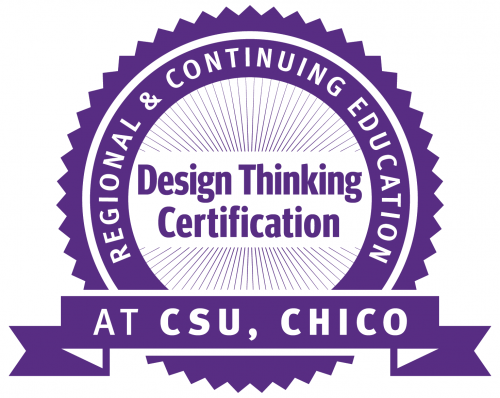 Design Thinking Certification Seal