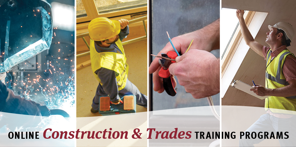 Online Construction and Trades Career Training Programs