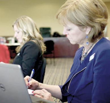 Photo of participant in the Cybersecurity for Executives Professional Development Program