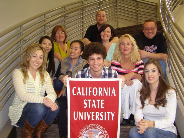 Redding students attending Chico State at the downtowm Shasta College center 2013