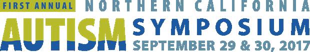 Northern California Autism Symposium 2017