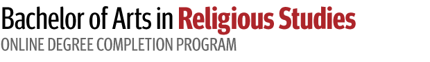 Bachelor of Arts in Religious Studies Online Degree Completion Program - Logo
