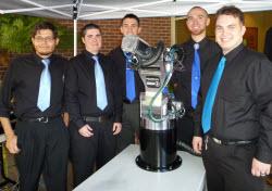 ECC Students at Senior Capstone Expo