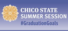 Chico State Summer Session: #GraduationGoals