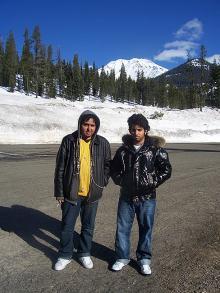 ALCI students enjoying the field trip