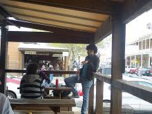 ALCI students take a lunch break