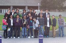ALCI students on the Sacramento field trip