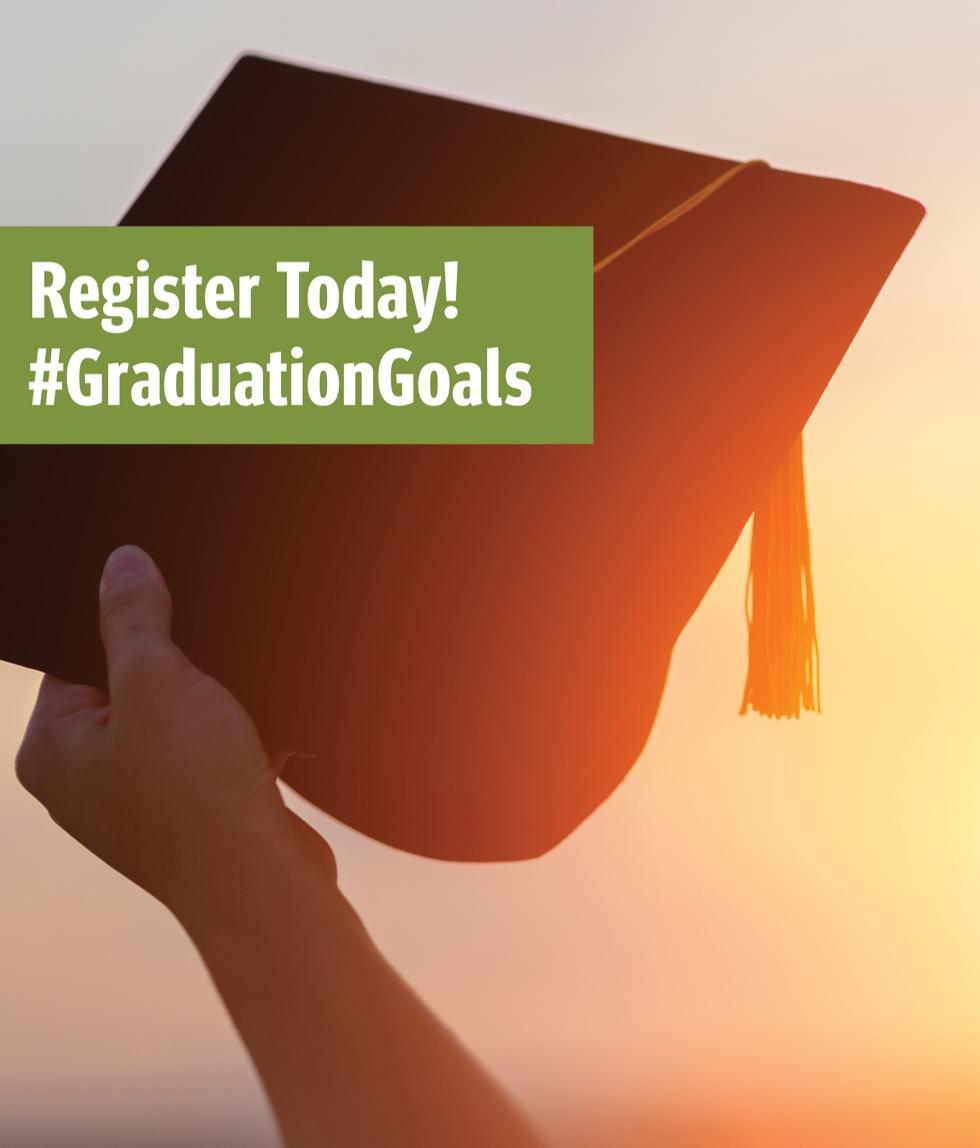 #GradGoals. Register Today