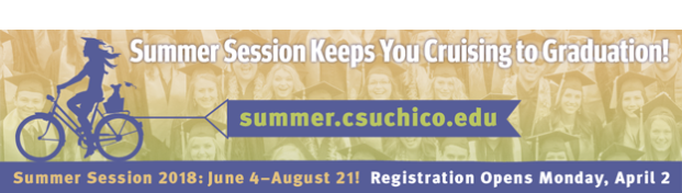 Chico State Summer Session Keeps You Cruising