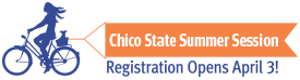 Summer Session at CSU Chico: Registration Opens April 3