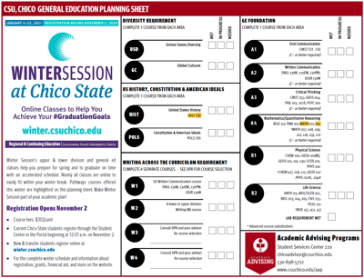 Winter Session Pathways Courses