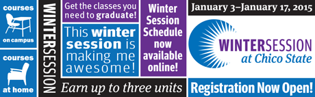 Winter Session Now Open